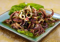 Squid Recipes - http://squidrecipes.healthandfitnessjournals.com