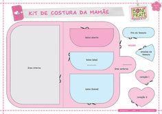 Kit de Costura da Mamãe - Parte 01 (PAP com molde) @ BoniFrati
