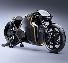 Heads up, Lotus Lovers, your beloved four-wheeled whip is getting a two-wheeled friend. The Lotus C-01 Motorcycle.