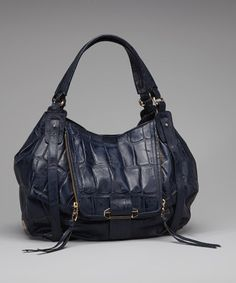 Take a look at this Navy Jonnie Shoulder Bag by Kooba on #zulily today!