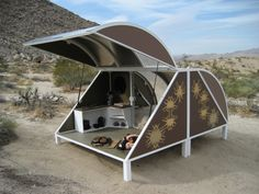 A-Z West Wagon Station Encampment by Andrea Zittel.// fun alternative to a yurt or tent.