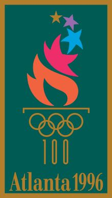 1996 Summer Olympics. Add Around The Rings on www.Twitter.com/AroundTheRings & www.Facebook.com/AroundTheRings for the latest info on the Olympics.