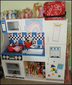 play kitchen, pretend play