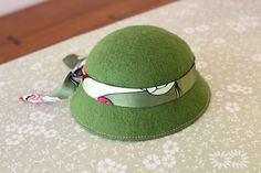 How to make the felt hat Part 2