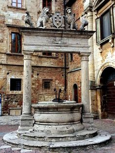 Montepulciano, Italy (photo via Carlo Paganucci) montepulciano italy