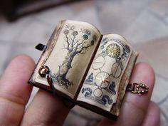 Amazing tiny Book by EV Miniatures.