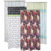 ON SALE NOW! Save on Fabric Shower Curtains from Old Time Pottery!