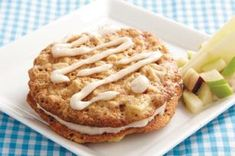Oatmeal-Apple Cream Pies Recipe - Kraft Recipes