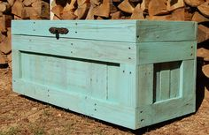Large Hope Chest from Reclaimed Wood