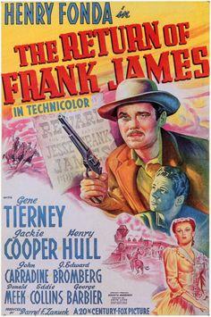 The Return of Frank James - 1940