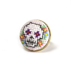 cross stitch ring