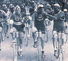 a little puff - vintage tour de france *the only enjoyment in biking that distance*
