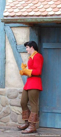 Gaston in Fantasyland in the Magic Kingdom / Disney World.