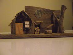 Driftwood house (made for Jen)