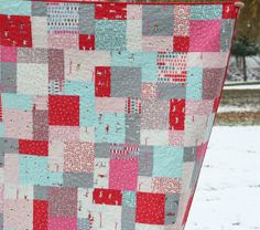 One hour layer cake quilt.