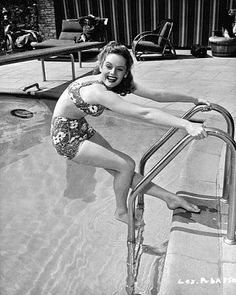 At The Pool, 1940s/1950s