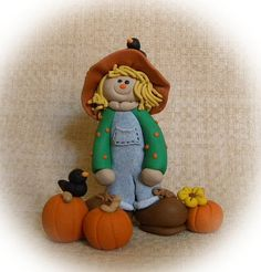 Fall halloween on pinterest thanksgiving crafts clip for Clay craft ideas for adults