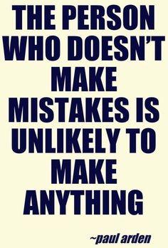 Mistakes quote via www.MarcandAngel.com