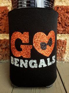 NFL Cincinnati Bengals Sports Team College by frecklefoxboutique, $15.00