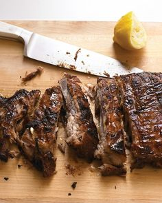 Honey-Chipotle Glazed Ribs Recipe. Bake them in the oven until tender, and then finish them on the grill with a honey glaze.