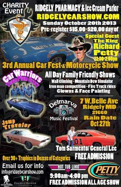 Car show in Ridgely, Maryland October 20th, 2013