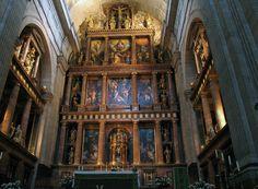 Chapel Altar El Escorial - Spain