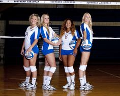 2013 SAU volleyball Seniors...Photo courtesy of Grisham Photography