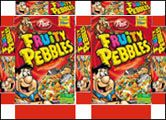 dollhous, cereal boxes