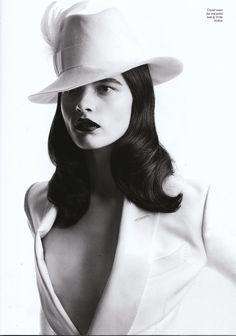 Love Magazine. The logic of taste.   Model: Crystal Renn.   Designer: Tom Ford.   Source: thelovemagazine.co.uk.   Published: spring/summer 2011