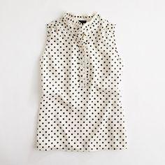 collar top, print ruffl, factori print, jcrew factori, ruffl collar