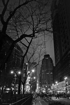 Lights on Broadway  New York, New York