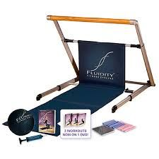Fluidity Workout Bar- at home full body workouts. This thing is sweet!