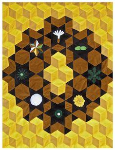 Dandelion Quilt by Rachel Held '12 (Rinehart School of Sculpture). Maryland Institute College of Art.