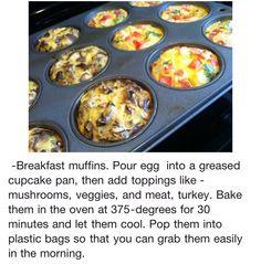 Make ahead breakfasts??