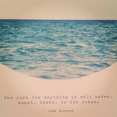 the cure for everything is salt water - Google Search