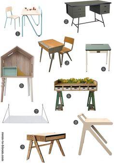 Paul&Paula blog: kids desks