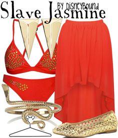 Slave Jasmine by disneybound