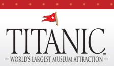 Titanic Museum Attraction in Pigeon Forge, TN