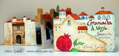 Valerie Sjodin: My Doodle-Photo-Painted Papers Travel Journal