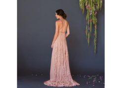 Fair Trade Pink Silk Wedding Dress | Green Bride Guide