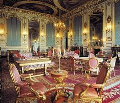 Style of Louis xiv for interior design