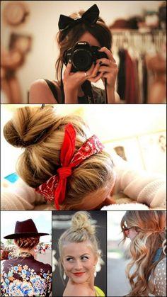 bandannas and bows