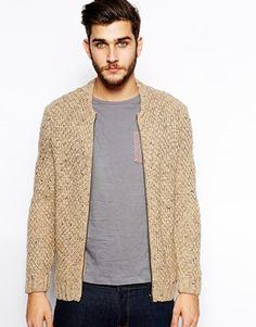knit bomber