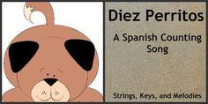 Finger Play Fun Day:  Diez Perritos