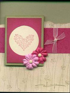 Simple and beautiful card idea, prima accent, idea galor