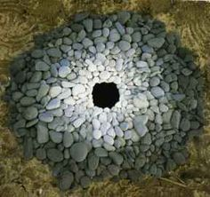 Art using natural materials by Andy Goldsworthy, will hopefully inspire children to create.