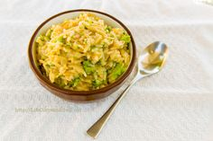 """Homemade Broccoli Cheddar Rice A Roni,"" by Life Currents -- Also includes a recipe for a Mixed Veggie version, which has no pre-packaged counterpart. Healthier, vegetarian, less salt, no trans fat, yum!"