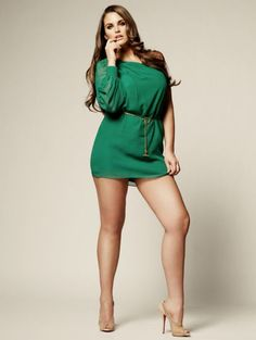 "Those legs! True ""thinner-spiration"" instead of being thin. =] I'd just be happy with being healthy."