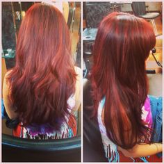 ... based red with gold based copper highlights and red violet lowlights