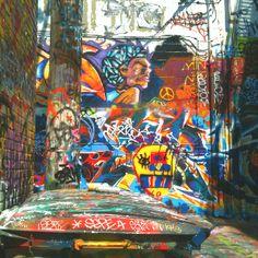 Graffiti alley 1900 Howard St. Baltimore